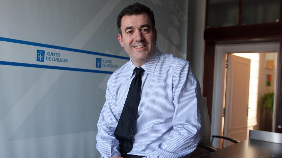 Conselleiro Educación Román Rodríguez